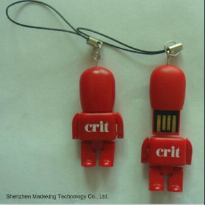 2015 Fashion Robot USB Flash Drive Flash Memory pictures & photos