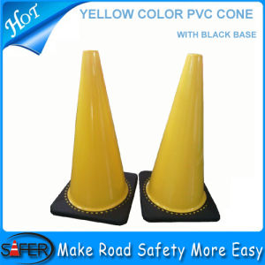 Australia Yellow Color PVC Cone pictures & photos