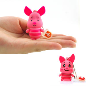 USB Flash Drive USB Memory Card Wholesale Cartoon Pig USB Stick USB Flash Disk Pendrives USB Memory Stick USB Flash Thumb Drive pictures & photos