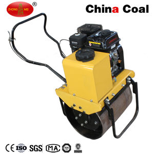 Mini Walk Behind Single Drum Hydraulic Vibratory Road Roller Compactor pictures & photos