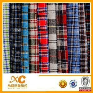 40*40 Yarn-Dyed Fabric (100%cotton)