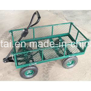 Four Wheels Construction Tool Cart with Handle (TC1840A) pictures & photos