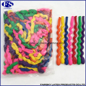 Free Sample Spiral Balloon Natural Latex pictures & photos