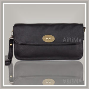 Black Simple Clutch Bag (C201107C002)