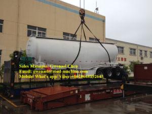 50cbm Dry Bulk Cement Powder Tanker Semi Trailer pictures & photos