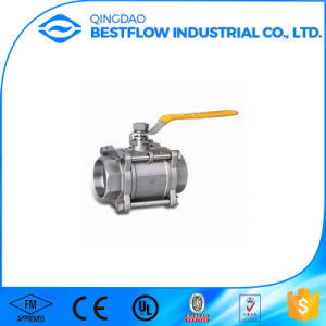 1000wog Carbon Steel NPT Threaded Ball Valve pictures & photos