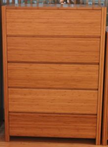 Bamboo Five Drawer Cabinet for Bed Room Furniture pictures & photos