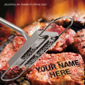 2017 New BBQ Branding Iron with Changeable Letters pictures & photos