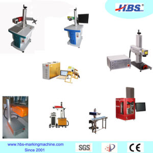 20W Fiber Laser Marking Machine with Fullly Enclosed Cabint pictures & photos
