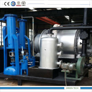 Movable Small Pyrolysis Machine for Plastic and Tires pictures & photos