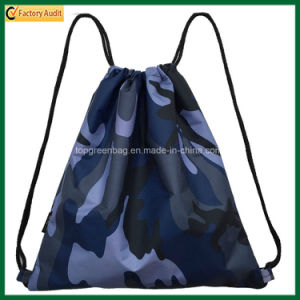 Polyester or Nylon School Bag Sport Drawstring Backpack Bag (TP-dB263) pictures & photos