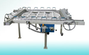 Pneumatic Filter Mesh Stretching Machine & Screen Stretching Machine pictures & photos