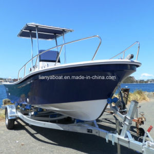Liya 5.8m China Fiberglass Fishing Boat with Engine in Fishing Vessel for Sale pictures & photos