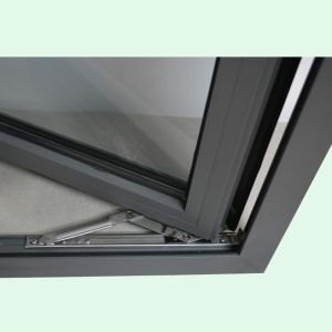 High Quality Thermal Break Aluminum Profile Casement Window with Multi Lock K03065 pictures & photos