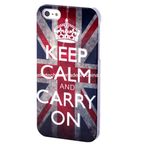 Retro UK Flag Hard PC Case for iPhone 5s (JK-IPH5-A-29) pictures & photos