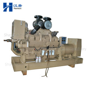 Cummins marine diesel generator set with KTA38-DM motor engine and alternator pictures & photos