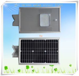 6W-80W Factory Price Durable Aluminum Integrated Solar Street Lights pictures & photos
