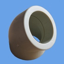 Ce&ISO Standard PPR Plastic Elbow 45 Degree / PPR 45 Elbow pictures & photos