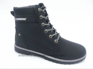 High Quality Leather PU Unisex Safety Boots for Labor (ET-XK160208W) pictures & photos