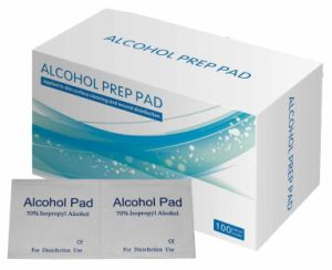 Sterile Alcohol Swab/Alcohol Pad/70% Isopropyl Alcohol Prep Pad with CE & ISO & FDA & SGS