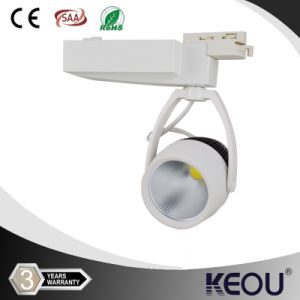Epistar Bridgelux CREE LED Track Light with CE UL (KEOU-TKCOB-30W) pictures & photos