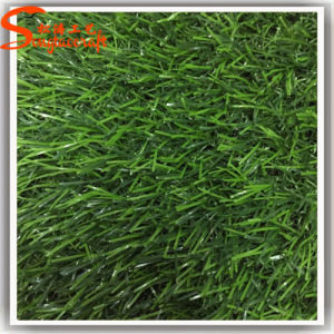 Guangzhou Wholesale Decoration Plastic Artificial Grass Lawn pictures & photos