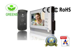 7 Inch LCD Video Door Phone with Card Rearder Functions (GVDP805MEID11)
