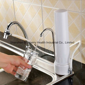 Desk Water Filter/Purifier with Ceramic Water Filter Candle Combined Carbon Block, Kdf&Calcium Sulfite pictures & photos