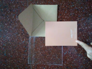 Wholesale Handmade Thank You Cards with Printing pictures & photos