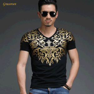 Wholesale Customed Round Neck Printing Men T-Shirt pictures & photos