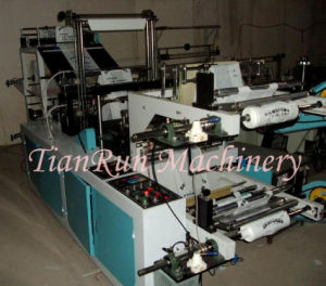 Double Layer Continuous Rolling T-Shirt Bag Making Machine (TR-DVB500) pictures & photos
