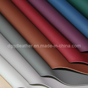 Sofa Furniture PVC Leather (QDL-FV007) pictures & photos