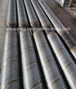 Yfs Stainless Steel Composite Sand Control Screen Pipe Used for Control Downhole Sand pictures & photos
