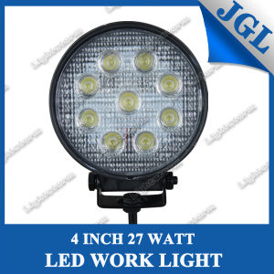 27W Round LED Work Lamp/LED Driving Light/Work Light pictures & photos