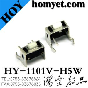 High Quality Manufacturer 3*6 Tact Switch with Stand (HY-1101V-H5W) pictures & photos