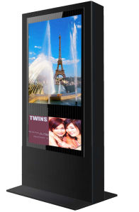 46inch LCD Outdoor Floor Standing Player LCD Ad Display Outdoor Digital Signage pictures & photos