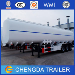 Heavy 40000liter Capacity Semi Trailer Fuel Oil Tanker for Sale pictures & photos