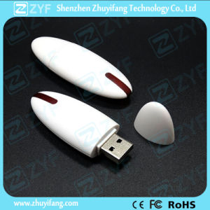 Creative Oval Plastic USB Flash Drive for Promotional Gift (ZYF1249)