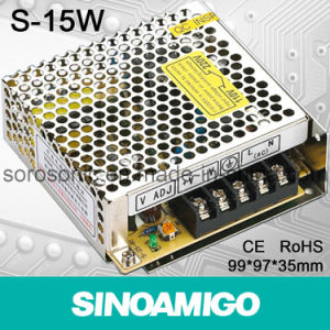 15W Single Output Switching Power Supply (S-15W)