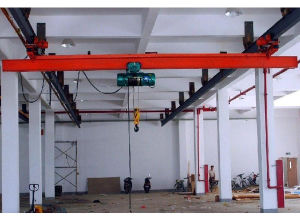 China Yuqi Brand Electric Single Girder Hanging Overhead Crane (LX Model)