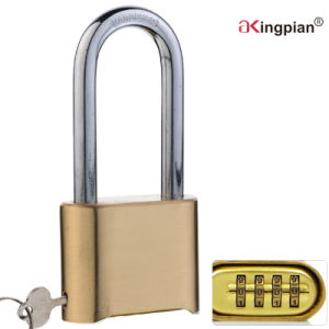50mm Long Shackle Brass 4 Digital Code Combination Lock pictures & photos
