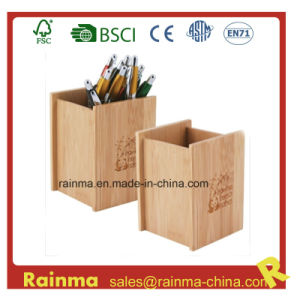 Bamboo Pen Holder for Office Supply pictures & photos