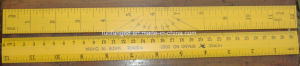 Triangle Ruler Set 12′ 10′ 8′ pictures & photos