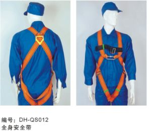 Falling Protection Safety Harness with Hook QS012 pictures & photos