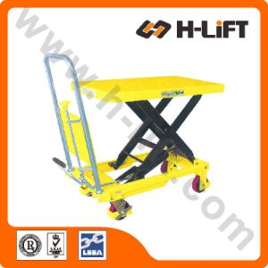 Manual Scissor Lift Table / Hydraulic Lift Table pictures & photos