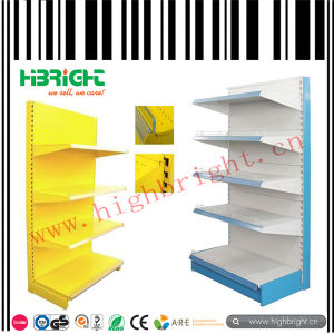 Supermarket Metal Display Gondola Shelf pictures & photos