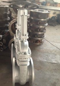 Carbon Steel Flanged Gate Valve in ANSI 150LB (Z41H-150#) pictures & photos