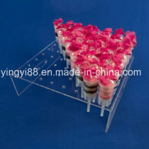 Hot Selling Plastic Ice Cream Container with Clear Stand pictures & photos