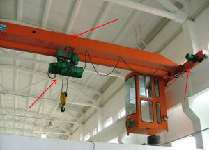 Single Girder Overhead Crane with Electric Hoist pictures & photos