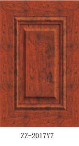 Factory Wholesale Price PVC Sliding Wardrobe Door with Aluminium Frame (pk-001) pictures & photos